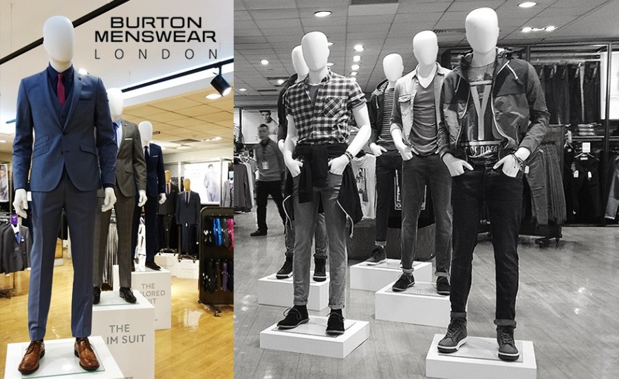 Burton review menswear