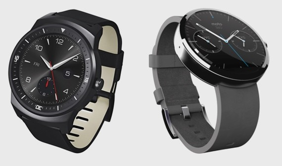LG G WATCH R vs moto 360 smart watch