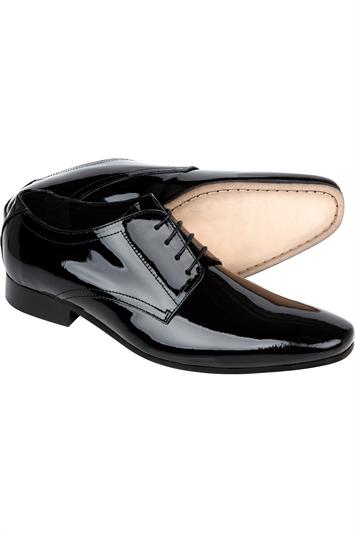 black patent moss bros shoes