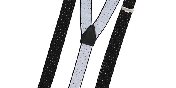 John Lewis Men Spot Patterned Braces