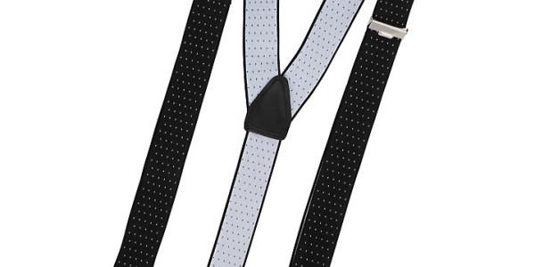 John Lewis Men Spot Patterned Braces