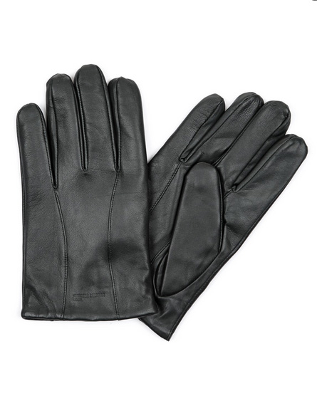PINE GREEN LEATHER GLOVES