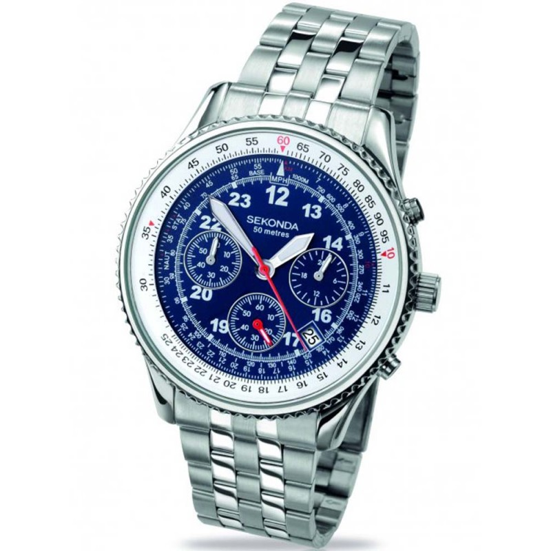 Sekonda Mens Chronograph Watch 3375