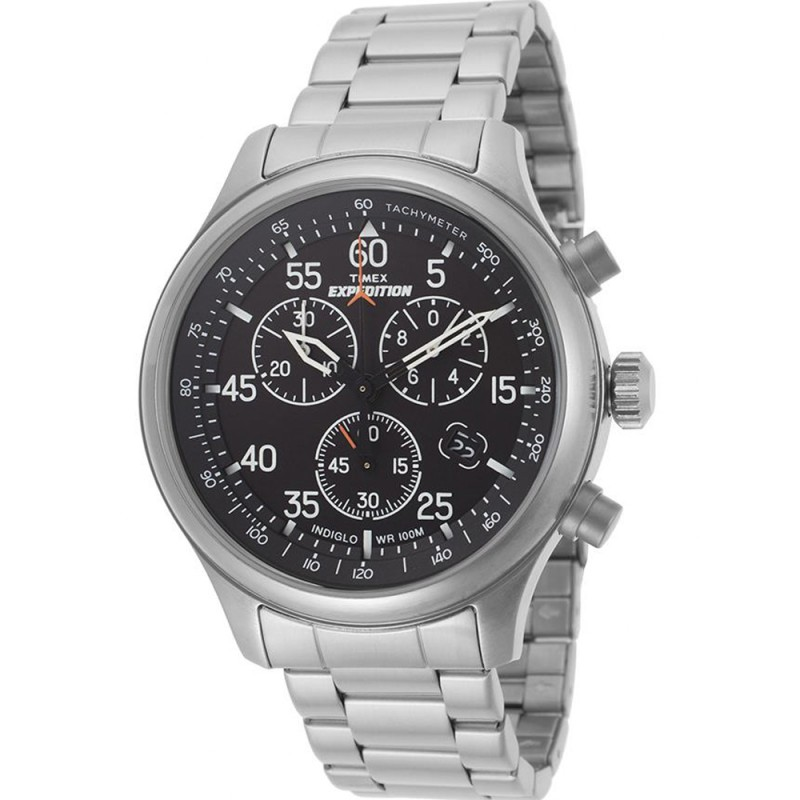 Timex Mens Expedition Chronograph Bracelet Watch T49904