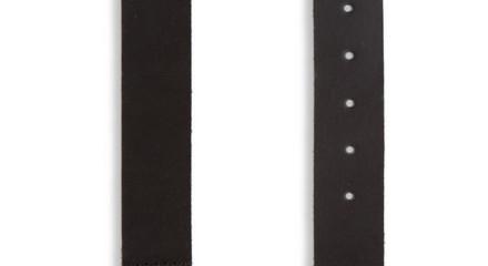 black denim belt