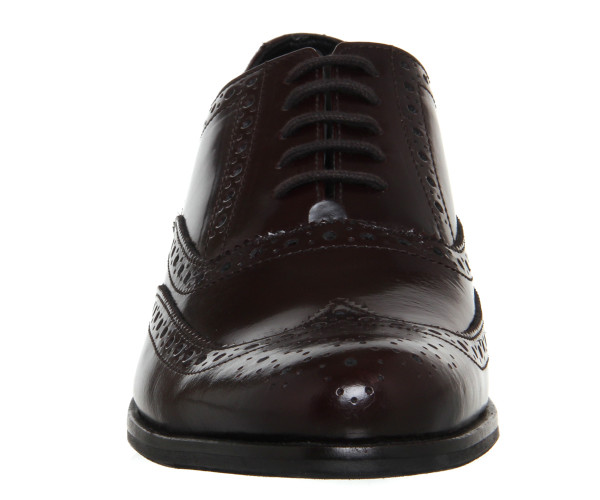 office burgundy brogues 3