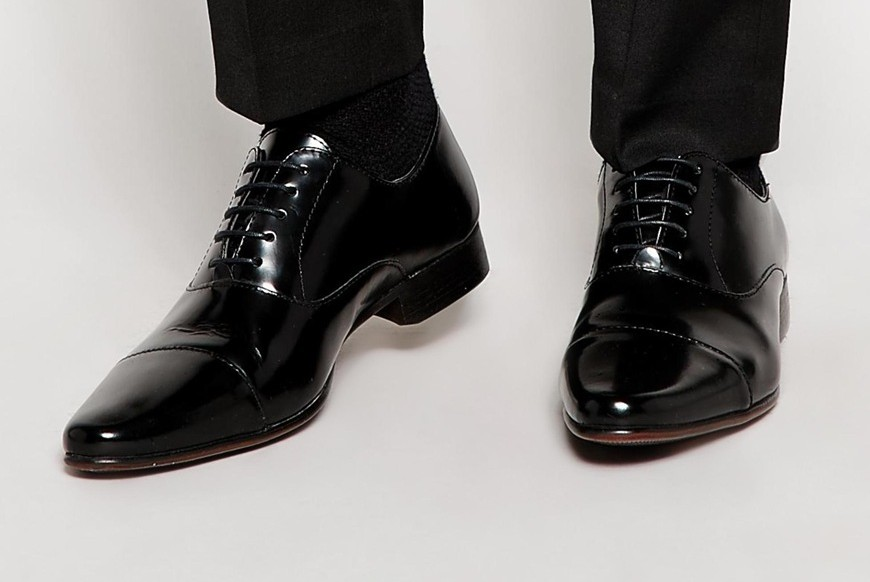 ASOS Oxford Shoes in Leather - Above The Ankles