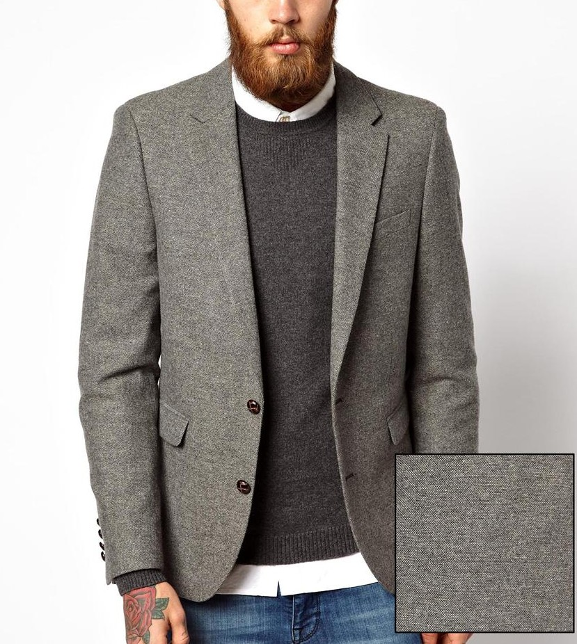 asos tweed blazer abovetheankles 2