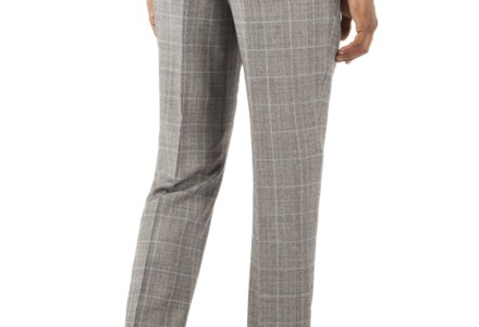 Ben Sherman Grey Prince Of Wales Check Kings Fit Suit 2
