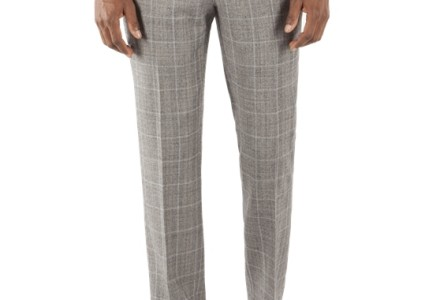 Ben Sherman Grey Prince Of Wales Check Kings Fit Suit 3