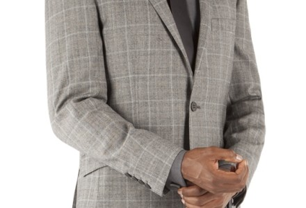 Ben Sherman Grey Prince Of Wales Check Kings Fit Suit 7