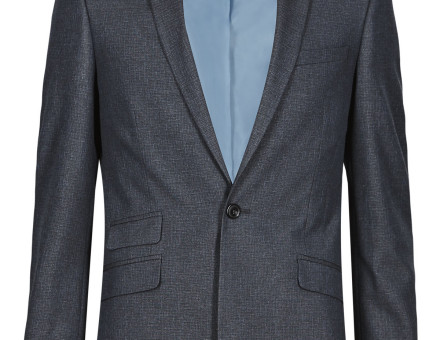 Blue Super Slim Fit Suit 8