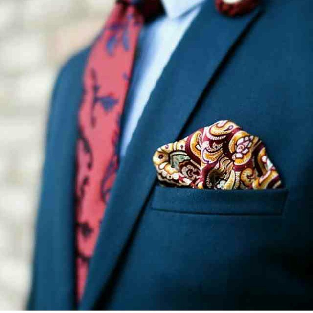 Don't Match Pocket Square & Tie