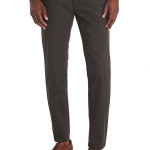 MOSS 1851 TAILORED FIT CHOCOLATE CHINOS