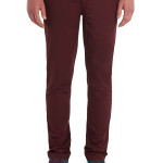 MOSS LONDON SLIM FIT DARK RED CHINO