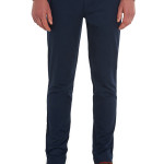 MOSS LONDON SLIM FIT NAVY CHINO