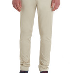 MOSS LONDON SLIM FIT STONE CHINO
