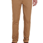MOSS LONDON SLIM FIT TOBACCO CHINO
