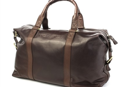 racing green holdall bag