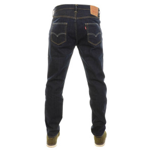 LEVIS 501 CUSTOMISED AND TAPERED JEANS BLUE