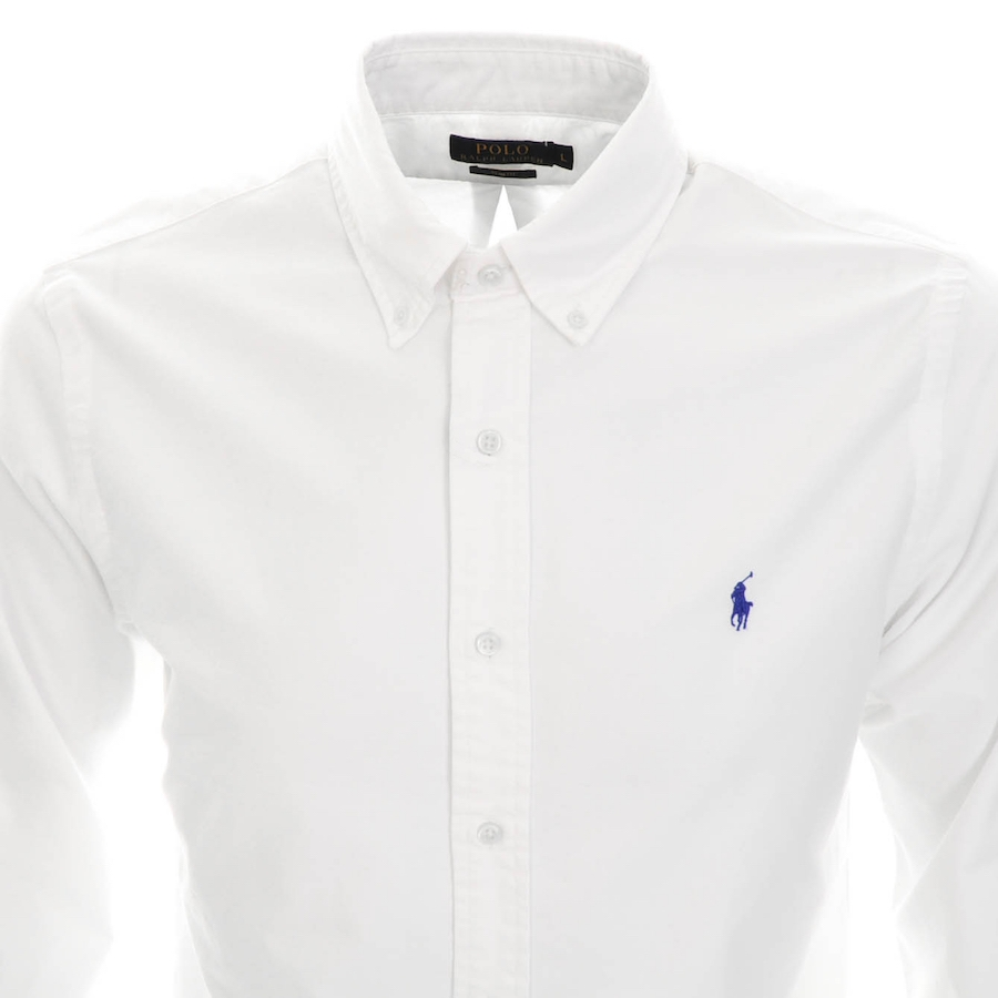 RALPH LAUREN SLIM FIT SHIRT WHITE 2