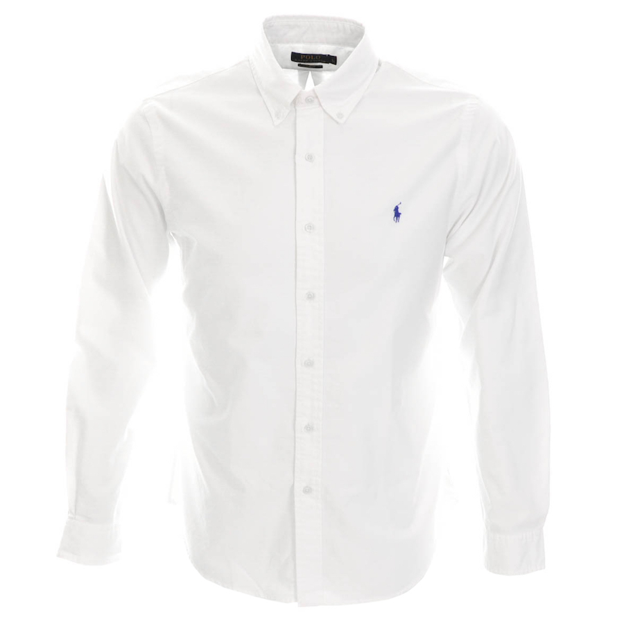 Ralph Lauren Slim Fit Shirt White - £85.00