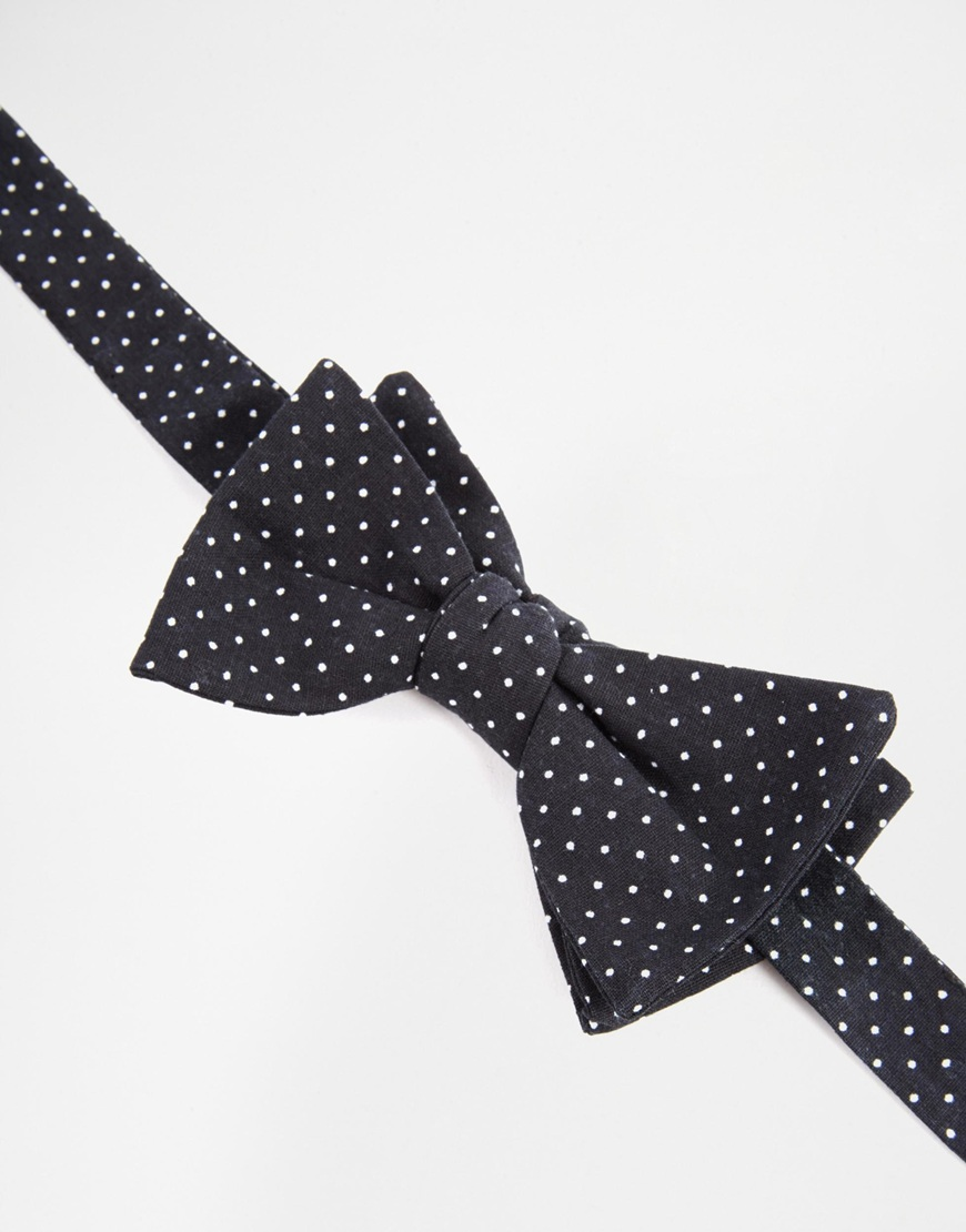 Reclaimed Vintage Polkadot Bow Tie 2