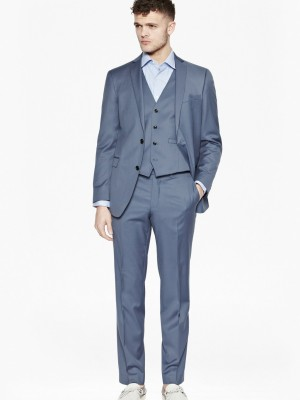 powder blue suit fcuk front