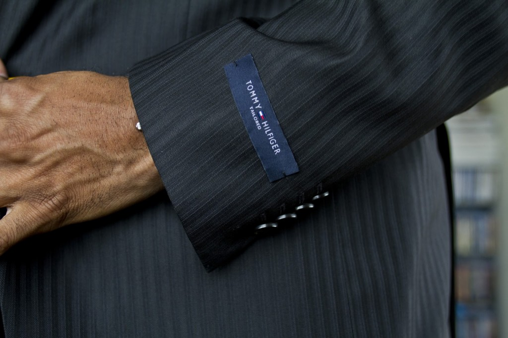 label-on-suit-sleeve