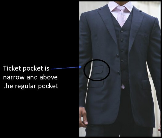 blazer outer pockets