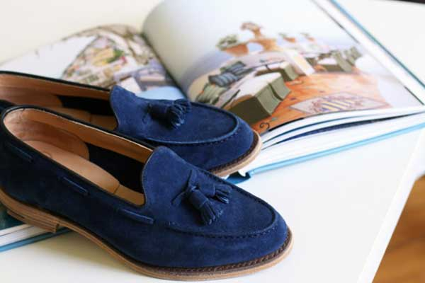 blue loafers cover photo