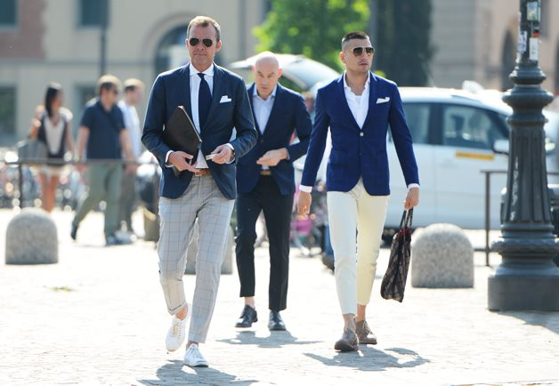 Moss Bros Summer Suits