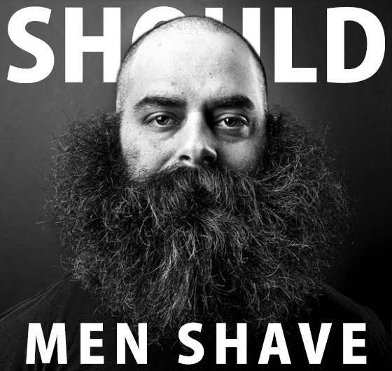 should men shave