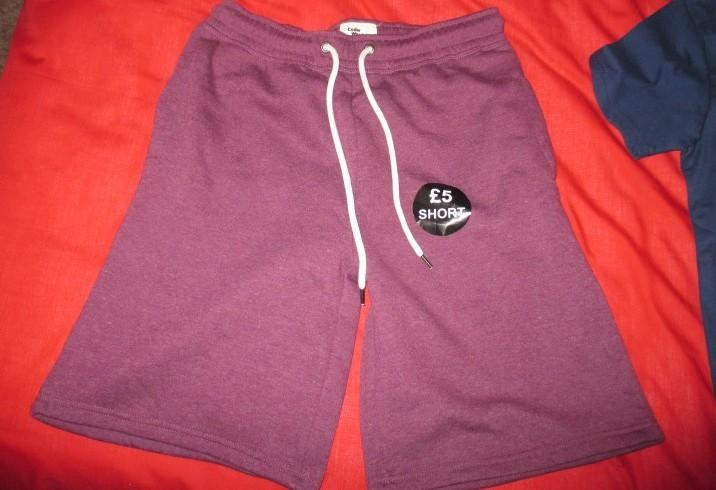 primark shorts for £5