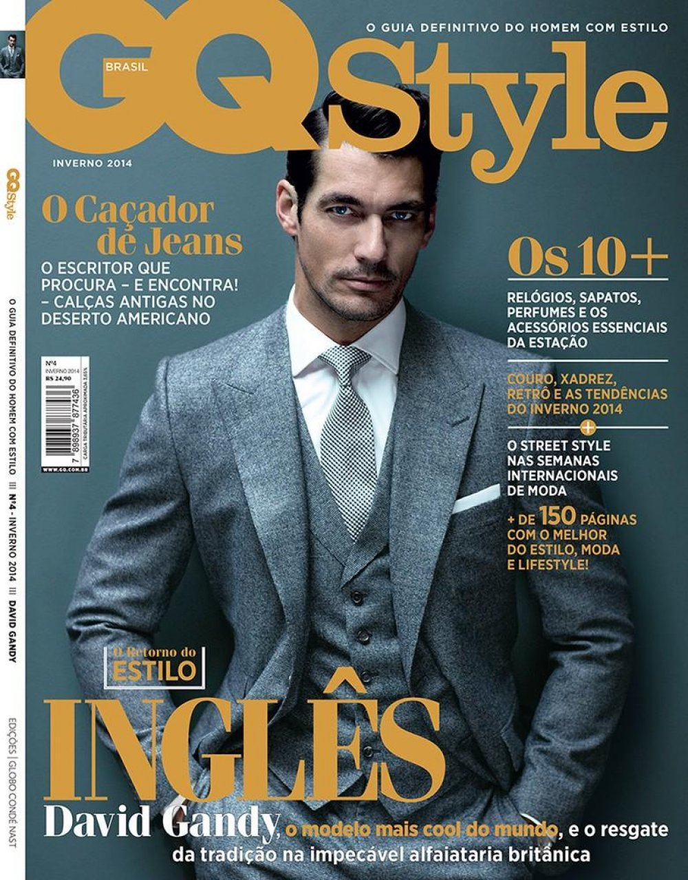 david gandy gq cover