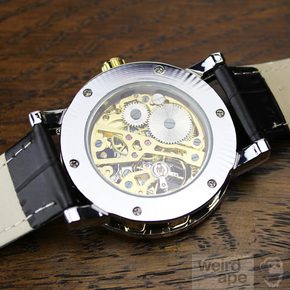 Excelsior Magnum Gold - Mechanical Skeleton Watch