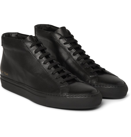 COMMON PROJECTS Original Achilles Leather High-Top Sneakers £270