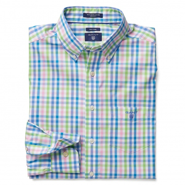 Gant Checked Oxford Shirt