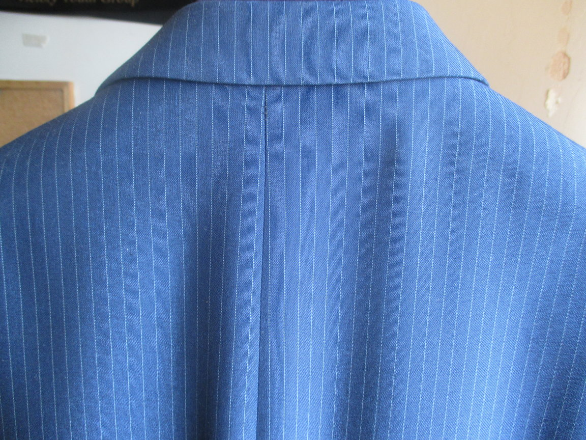 hamed adefuwa next pin stripe suit