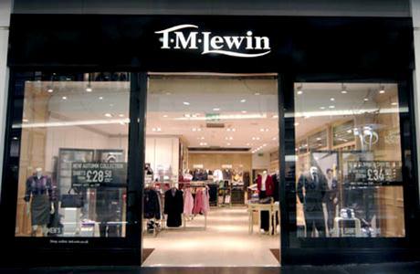 tm lewin store
