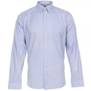 PS By Paul Smith Brushed Oxford Shirt Sky Blue
