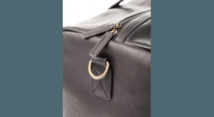 Alexandre Savile Row Alexandre Leather Holdall 5
