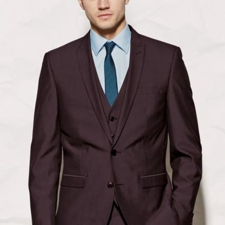 Burgundy Suit