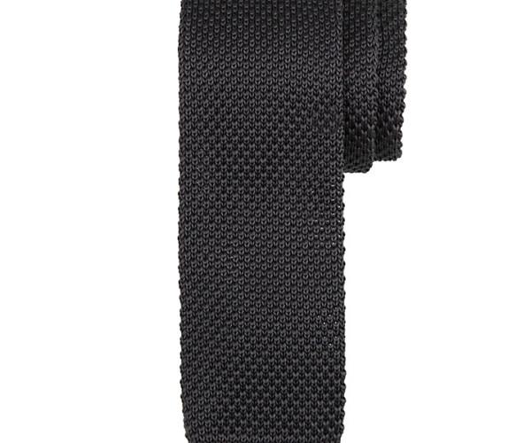 Kin by John Lewis Mercer Knitted Tie, slate