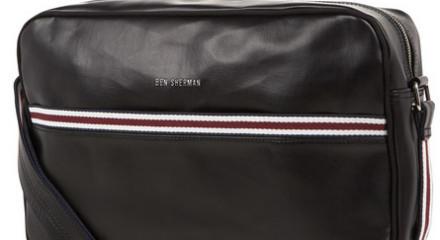 ben sherman flight bag