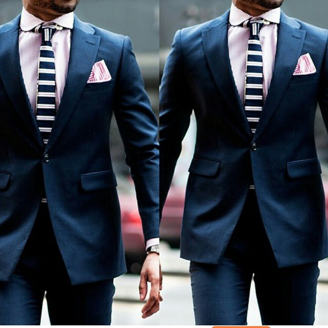 how a suit fits above the ankles