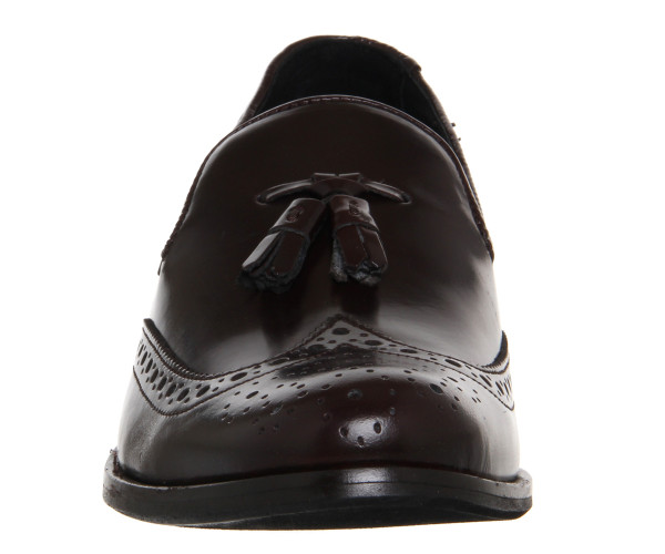 office burgundy loafers 3