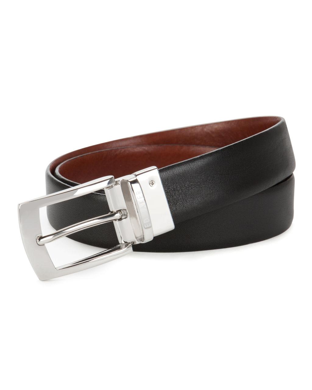 Ted Baker Bluez Smart Reversible Belt