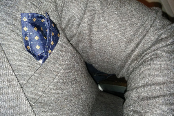 The Grey Donegal Slim Fit Suit