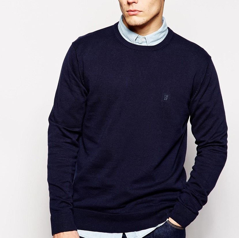 French Connection Cotton Crew Neck Knitted Jumper